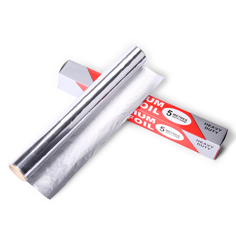 2 packs/lot Good 5m long Barbecue BBQ Cooking Food Packing Oil proof tinfoil paper Aluminum Foil Paper for kitchen baking sheet(China (Mainland))