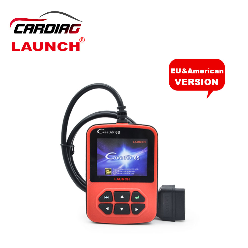 Original Launch X431 Creader 6S Code Reader EU/American VersionUpdate On Official Website Creader VI PLUS Launch Auto Scanner(China (Mainland))