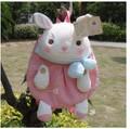 Gift for baby 1pc 36cm cartoon metoo bowknot sweet rabbit bunny plush backpacks creative children shoulder