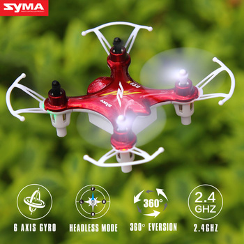 SYMA X12S Dron 4CH 6Axis 2.4Ghz Mini Drone RC Quadcopter Remote Control Helicopter Aircraft Toys Gift for Children