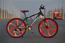 26 Inch Mountain Bicycle Road Bikes Carbon Fibre MTB Trail Mountain Bike One Wheels Bikes(China (Mainland))