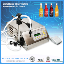 Electrical liquids filling machine bottled water filler beverage foods oils bottling equipment tools nail polish brand auto pump(China (Mainland))