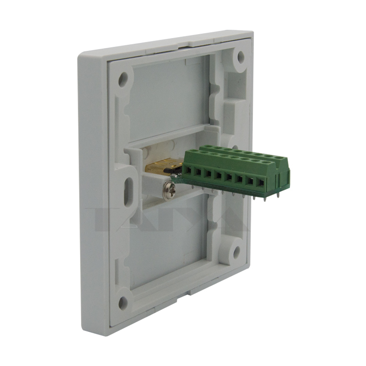 hdmi wall plate with 2 raws back side screw connectors<br><br>Aliexpress