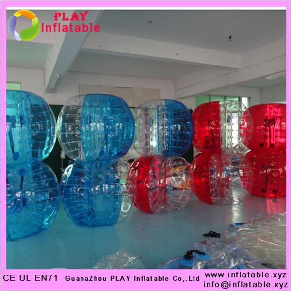 half color human bubble football TPU 1.5 m body zorb ball human bubble football(China (Mainland))