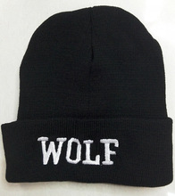 Exo – lu han, Se Hun ,kai, chen xoxo Wolf turtleneck cap black white big eye autumn -winter chef steelers hat knitted