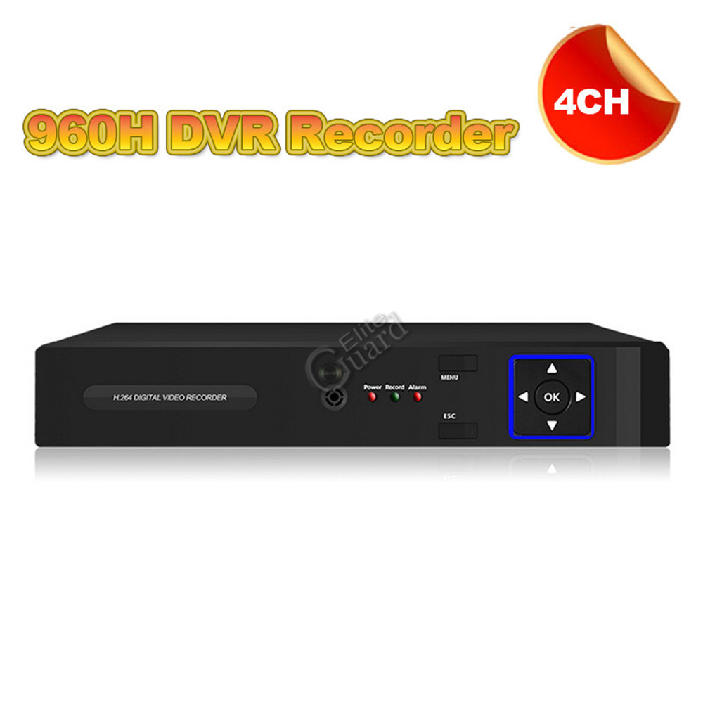 New arrived! CCTV DVR Recorder 4 channel 960H digital video recorder system HDMI 1080P for security camera Free shipping