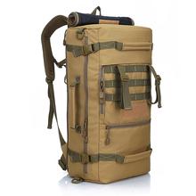 2015 New militaire tactique à dos randonnée Camping sac à dos sac à bandoulière hommes randonnée sac à dos sac à dos mochila feminina 50L(China (Mainland))