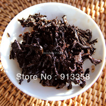 New Arrival Pu er tea cooked tea Bulang mountain material Ripe tea Yunnan Seven tea super