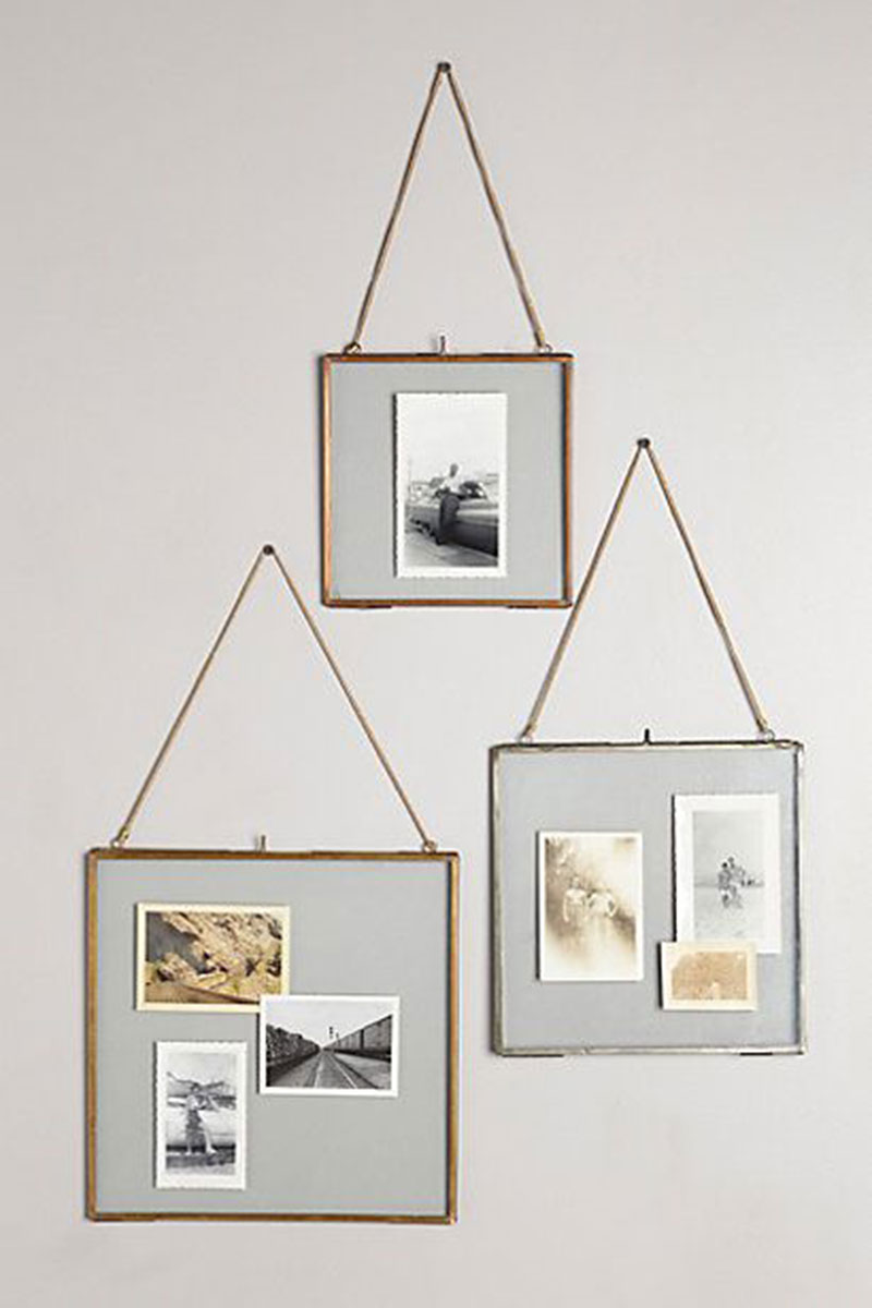 Wall photo frame home decoration picture frames creative simple metal shelf exhibition frame Home decoration photo frames