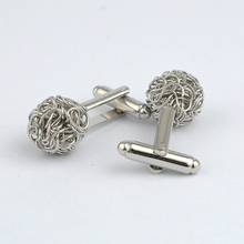 Fine Jewelry Men's Cufflinks Buttons For Party Formal Shirts Cufflinks Brand Accessories Upscale Copper Cuff Links For Wedding