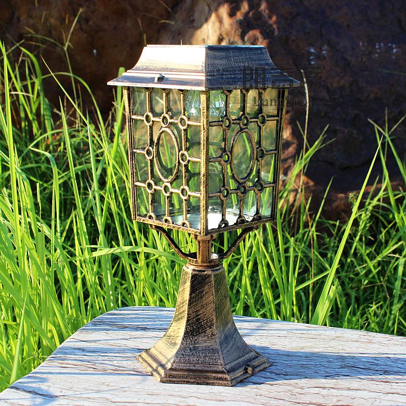 Solar lights outdoor lamp post caplights wall light the door lamp outdoor garden lamp garden ...