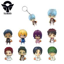 Kuroko No Basket Tetsuya Kuroko Keychain 9Pcs Set 6Cm Basketball Keychain Japan Anime Pvc Figures Phone Strap Pendant Hot Toys