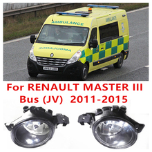 Renault MASTER 3/III Bus (JV) 2011-2015 FOG LAMPS Car Styling Front Bumper Halogen Fog Lights High Brightness - E-J Fifi AUTO store