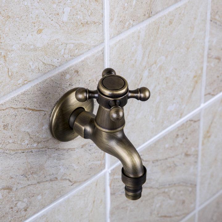 Laundry-Washroom-Bathroom-Wall-Mount-Washing-Machine-Faucet-Garden-Tap ...