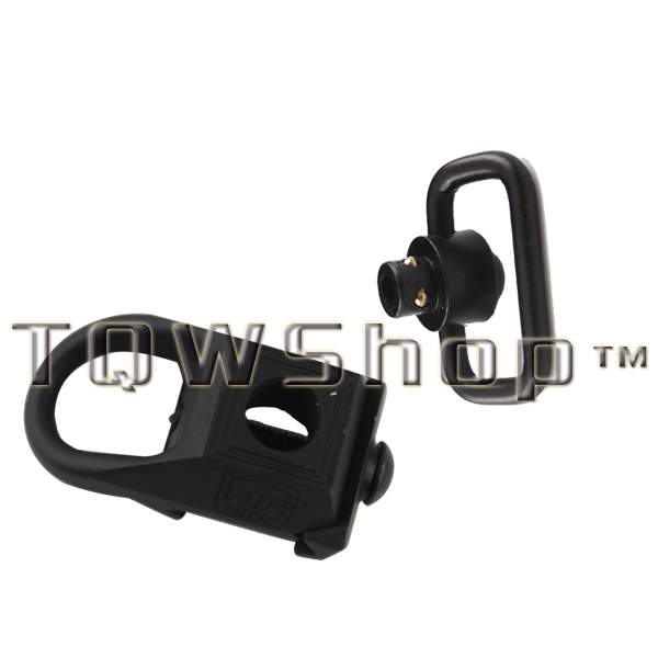 Airsoft gun Rail Mounted Quick Release Detach loop rail adapter Sling Attachment 20mm Slings Swivel Base hunting(China (Mainland))