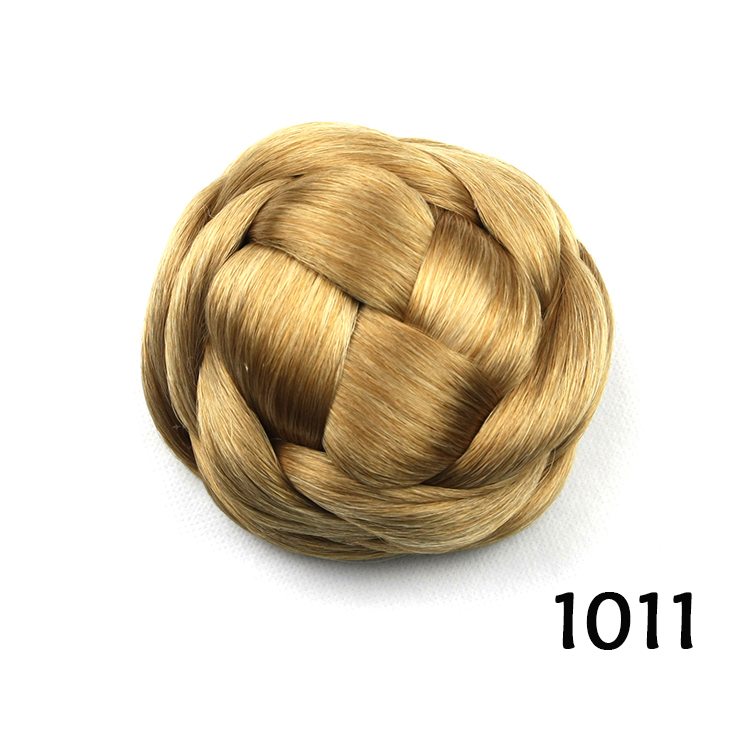 Curly Bun Hair Pieces Golden Hair Bun Curly Bun