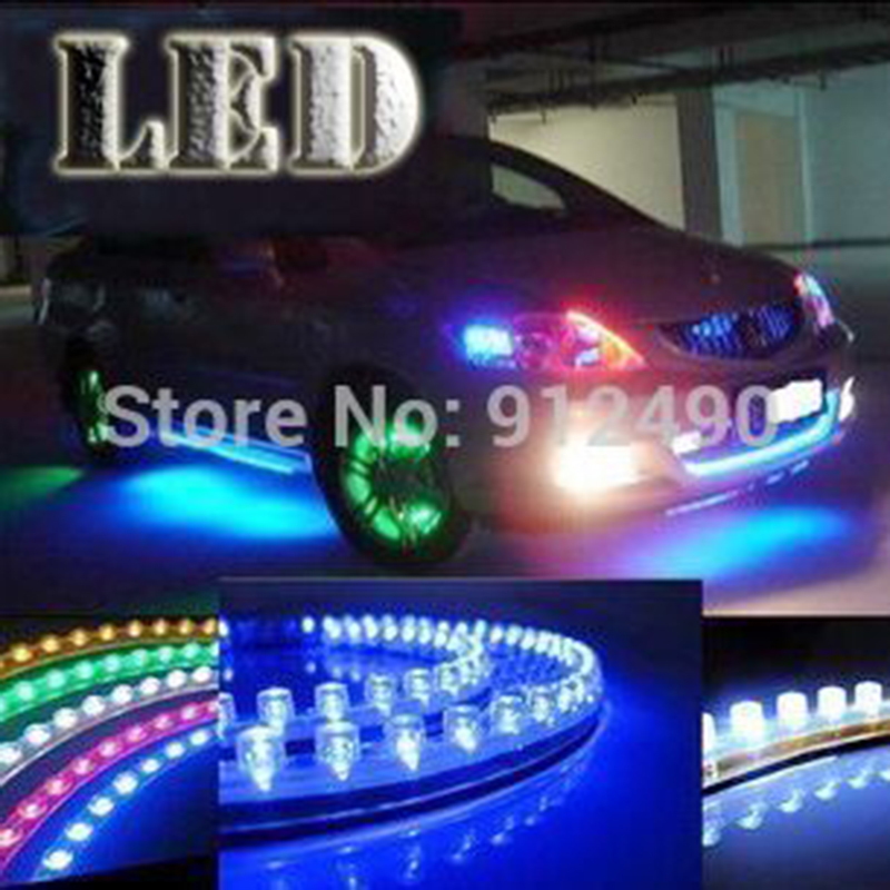 12V 24cm LED Car Styling LED DRL Light Strip For Daytime Running Light motorcycle car bike decoration waterproof(China (Mainland))