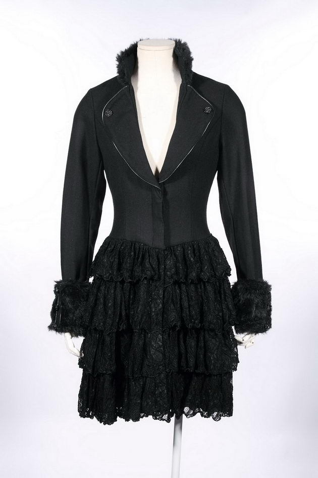 Lady's Cosplay Women's gothic steampunk Coat 21136