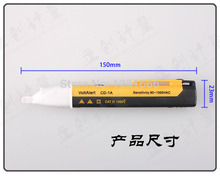 wholesale Non contact AC voltage detection Induction Electric Indicator Voltage Detector Pen Test Pencil Neon electroscope