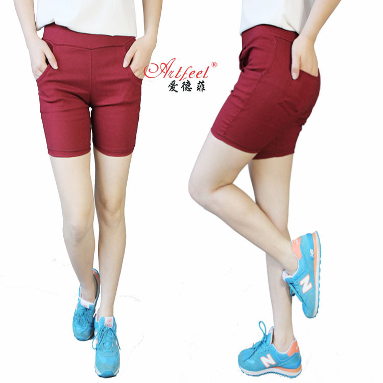 Brilliant Fashion 2014 Summer Shorts Women Shorts Feminino High Waist Shortsin