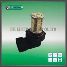 Livraison gratuite, 2 pcs/lote, 9006 auto led lampe, 18 pcs Ultra Bright 5050SMD ( blanc, Rouge, Bleu ) / de détail(China (Mainland))