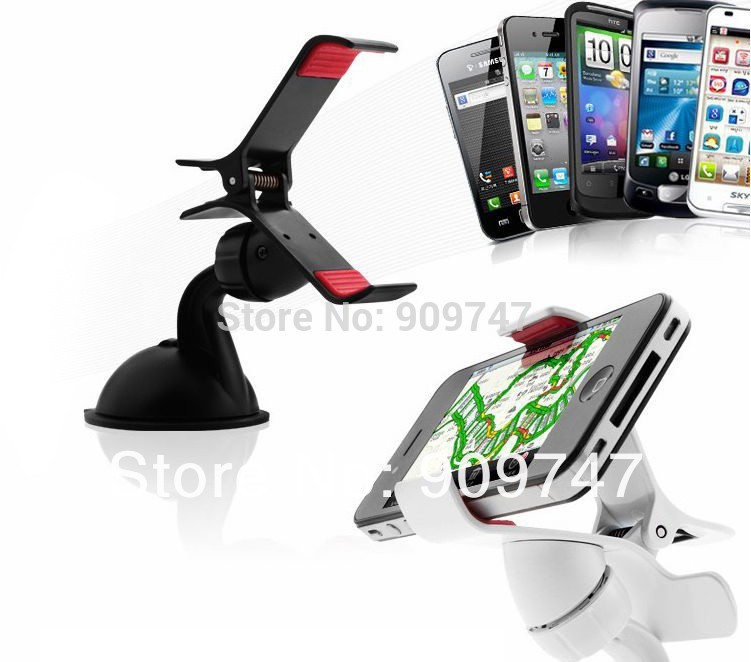 1pcs Universal Windshield Car Bracket Phone Holder Stand for phone GPS Tablet 360 Degree Rotating