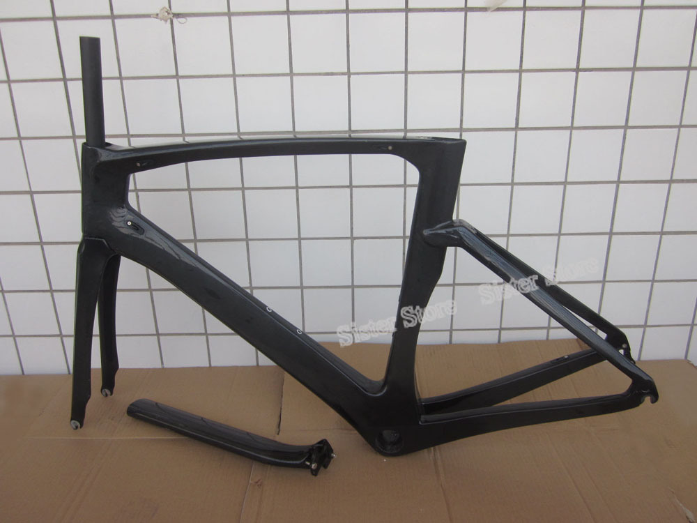 UD Glossy Toray T800 Frame ; Time Trial Frameset;BB386 Road Bike Carbon TT Frame 700C(China (Mainland))