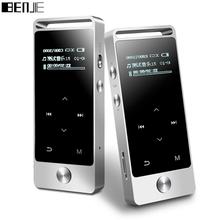 Original BENJIE S5 real 8GB lossless HiFi MP3 Music player Touch screen High sound quality metal MP3 E-book FM radio Clock Data(China (Mainland))