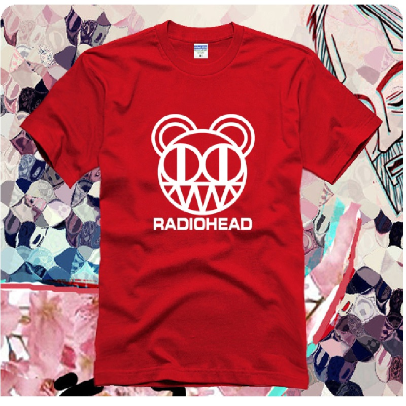 New Design Rock and Roll Radiohead T Shirt Rock Music Arctic Monkeys T-shirts Cotton Top Tees DT014(China (Mainland))