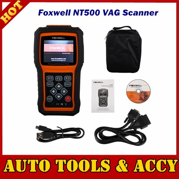 Shopping Foxwell NT500 VAG Scanner For VW/Audi/Seat/Skoda sold worldwide from 1996 With Free Shipping(China (Mainland))