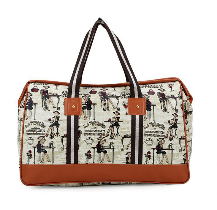 Hot Sale 2015 Korean New Fashion Largest Capacity Women Portable Jaws Luggage Travel Bag Men And Women Business Travel Bags(China (Mainland))
