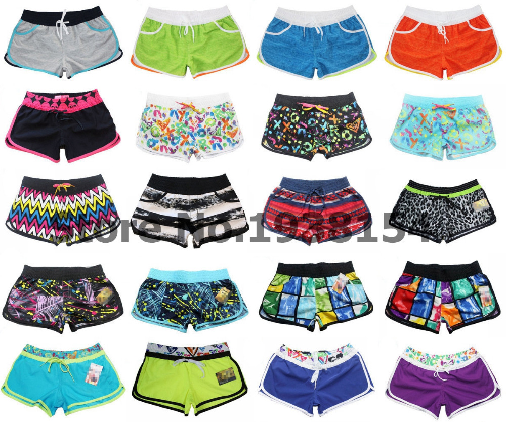 Multi-choice Different Styles Womens Quick Dry Polyester Bermudas Shorts Woman Sexy Casual Shorts Board Shorts Beachshorts BNWT