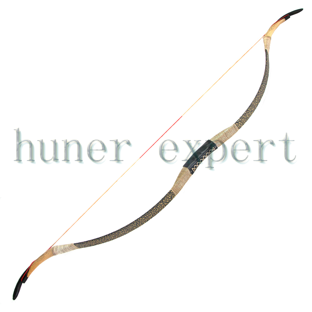 Archer Archery 45lbs Recurve Bow Traditional Wooden Longbow for 400 spine Carbon Fiberglass Arrow Hunting Target