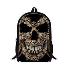 Buy Skull ultralight backpacks Teenagers Cool school back packs high school students girls fashion bookbags youth mochilas for $19.97 in AliExpress store