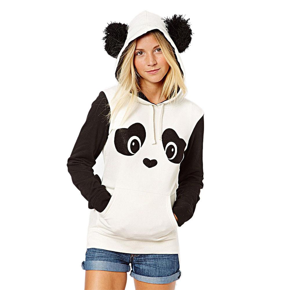 achetez en gros panda sweat avec des oreilles en ligne. Black Bedroom Furniture Sets. Home Design Ideas