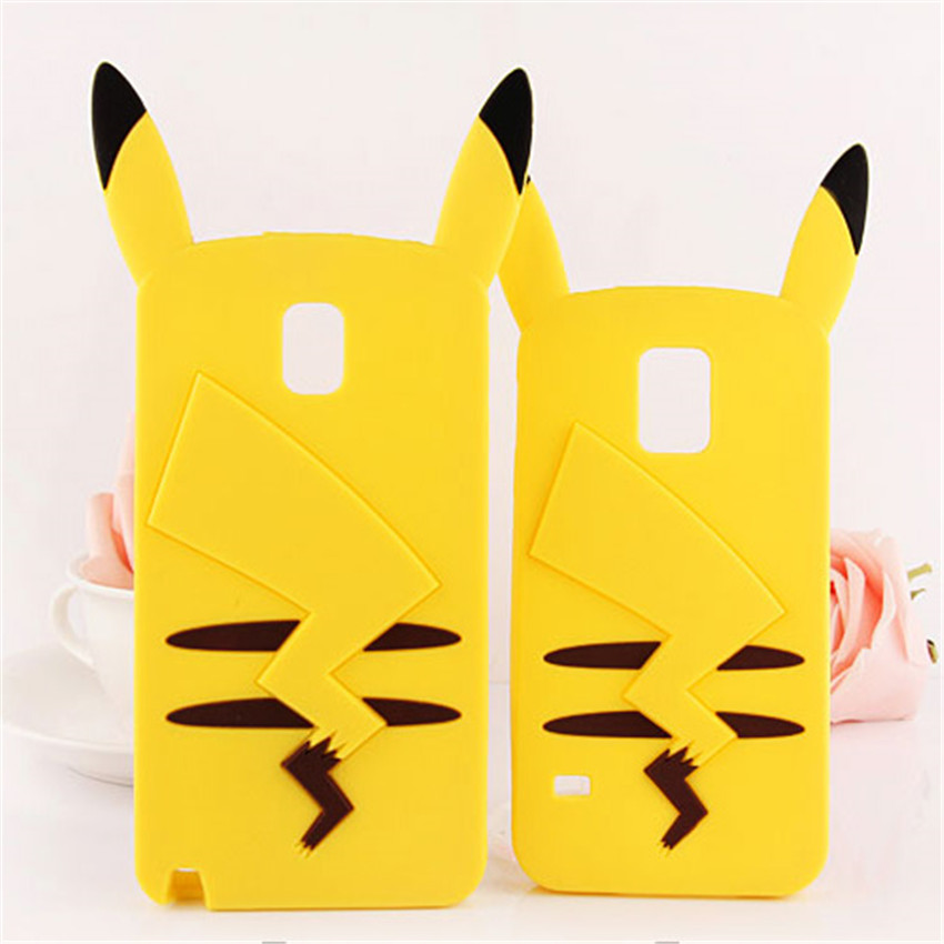 Cute 3D Pocket Monsters Pokemons Phone Cases Cover Samsung S4 S5 S6 S6Edge S7 S7Edge J1 J3 J5 J7 A5 A7 Note3 Note4 Note5  -  Denlais Electronic Co., Ltd store