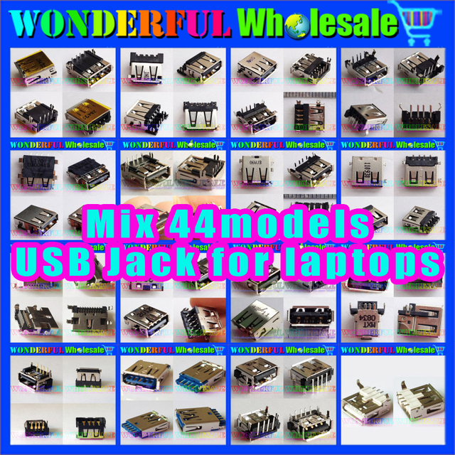 44models Laptop USB Connector for HP/Acer/ASUS/Lenovo/DELL/IBM/Toshiba/Samsung/...