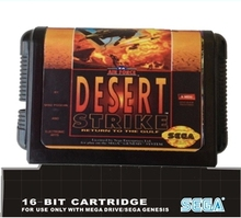 Sega 16 bit MD juegos de cartas : huelga desierto para 16 bit Sega MegaDrive génesis consola de juegos EUR / ee.uu. caso