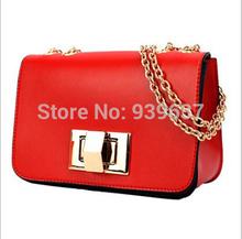 Free shipping 2016 new hot  handbag  fashion chain bag  handbags women  candy color cute  small bag  Messenger Bag