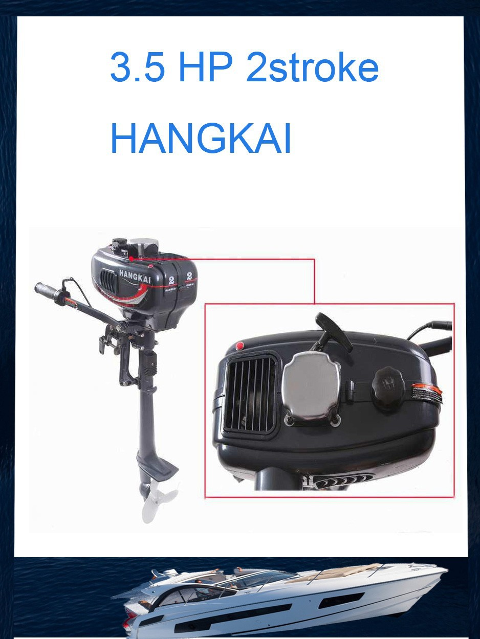 Buy hangkai cdi water cooled short shaft for Air cooled outboard motor kits