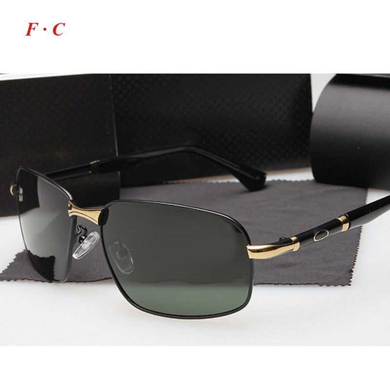 2015 Brand design vintage brand luxury men sunglasses alloy rimless polarized goggles male driving fishing sunglassesОдежда и ак�е��уары<br><br><br>Aliexpress