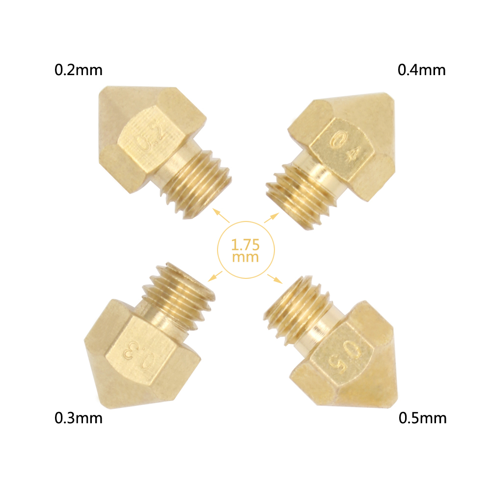 Makerbot MK8 nozzle impressora 3D printer Extruder nozzle for Prusa i3 extruder(China (Mainland))