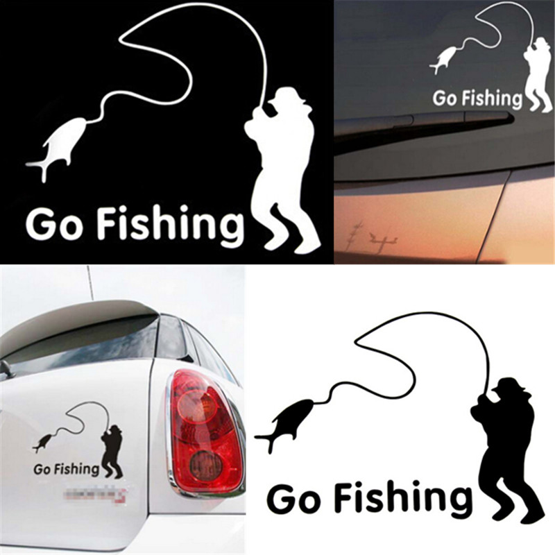 Popular free fishing decals buy cheap free fishing decals for Fishing car stickers