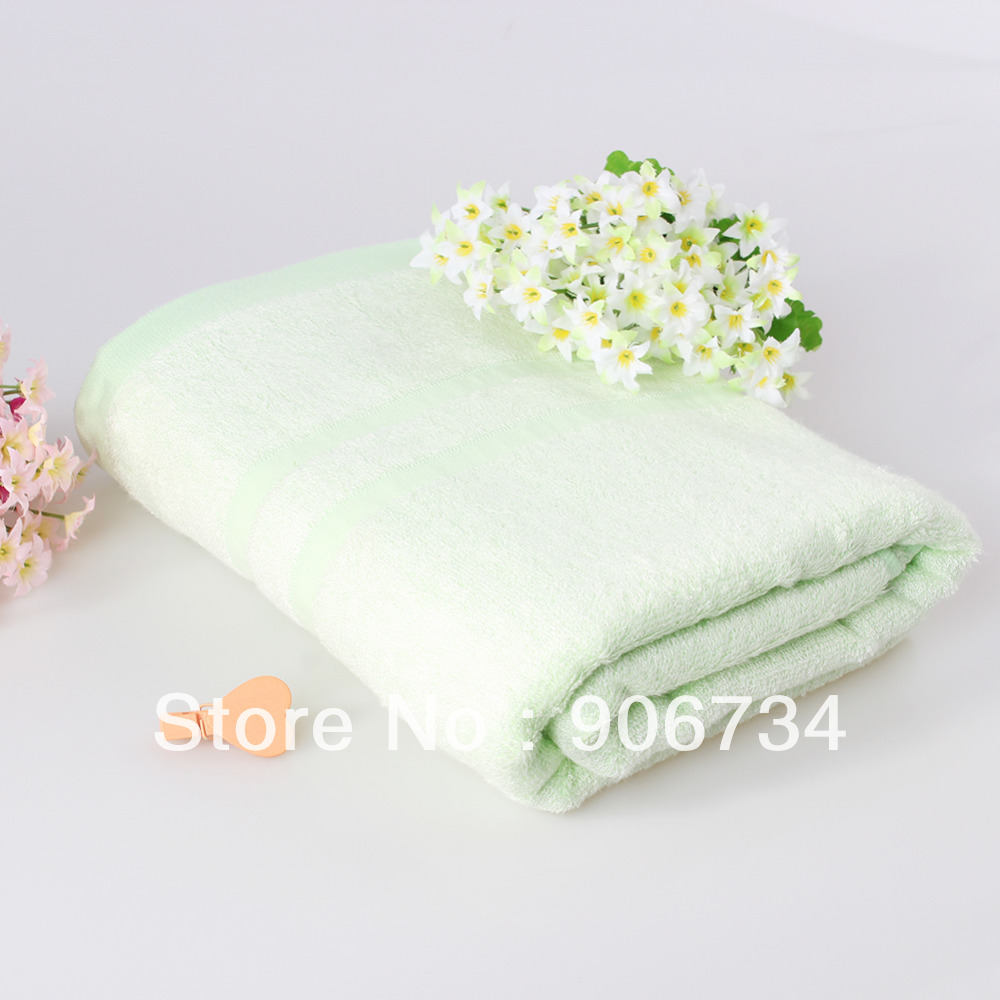 New Free ShippingNew Promotion 100% Bamboo Fiber Large Absorbent Bath Towels Bathing Product on Sale(China (Mainland))