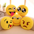 13 styles Automobile Decorative Emoji Lumbar Cushion for Car lumbar support for office chair cute styling