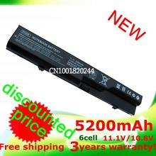 5200mAh  laptop battery for HP 420 425 4320t 620 625  ProBook 4320s 4321S 4325s 4326s 4420s 4421s 4425s  4520s 4525s PH09 PH06(China (Mainland))