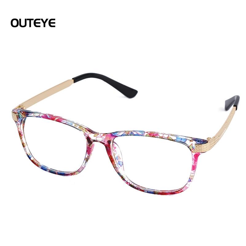 2016 square plain eye glasses brand myopia eyeglasses