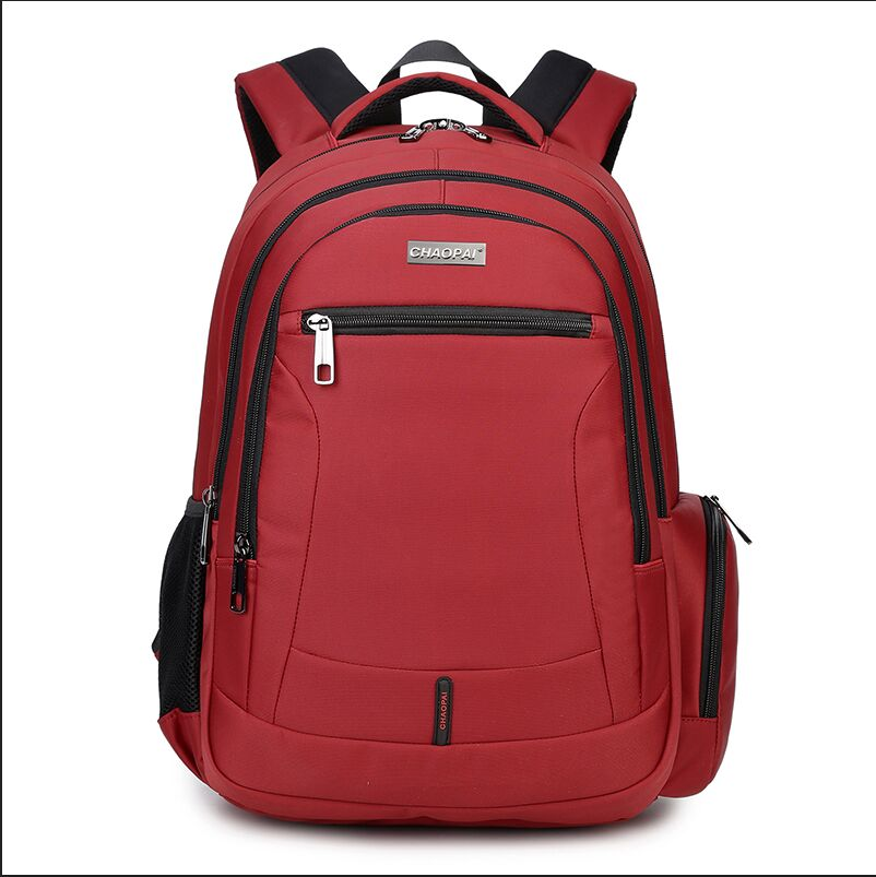 big size red school bags girls kids bag women backpack waterproof nylon fabric men bagpack high backpacks boys - OKKID store