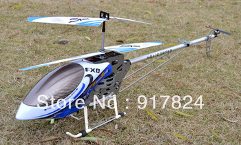 (Clearance Sale: FREE SHIPPING)-FXD A68690 metal Flame rc big Helicopter 1.25m Extra Body & Wings