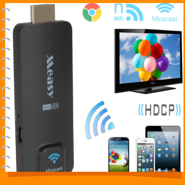 20pcs! Measy Wireless Miracast EZcast Airplay DLNA Mini TV Dongle Stick WiFi HDMI HDTV Receiver Adapter for Laptop Tablet PC(China (Mainland))